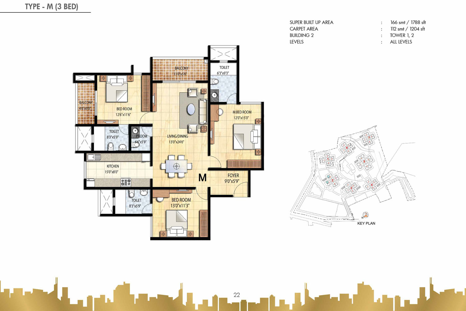 Type M - 3 Bed - 1788 Sq Ft