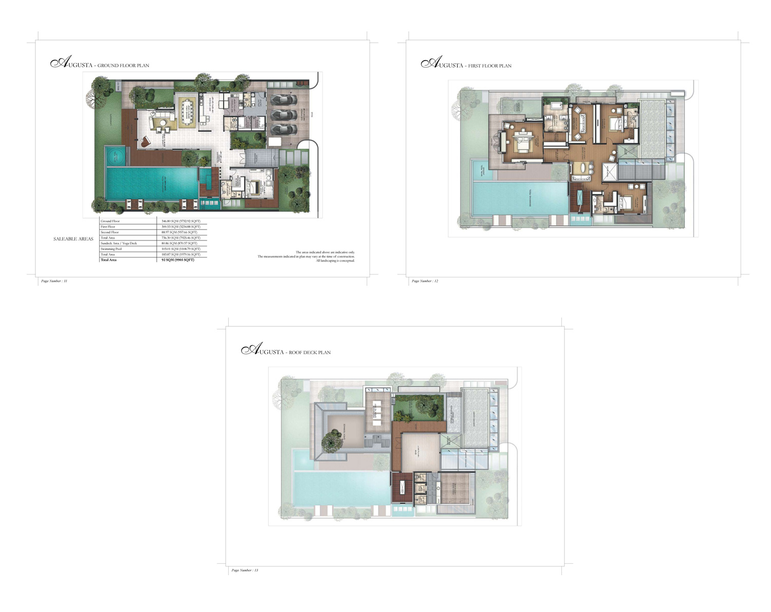 Type A - Augusta - 9905 Sq Ft