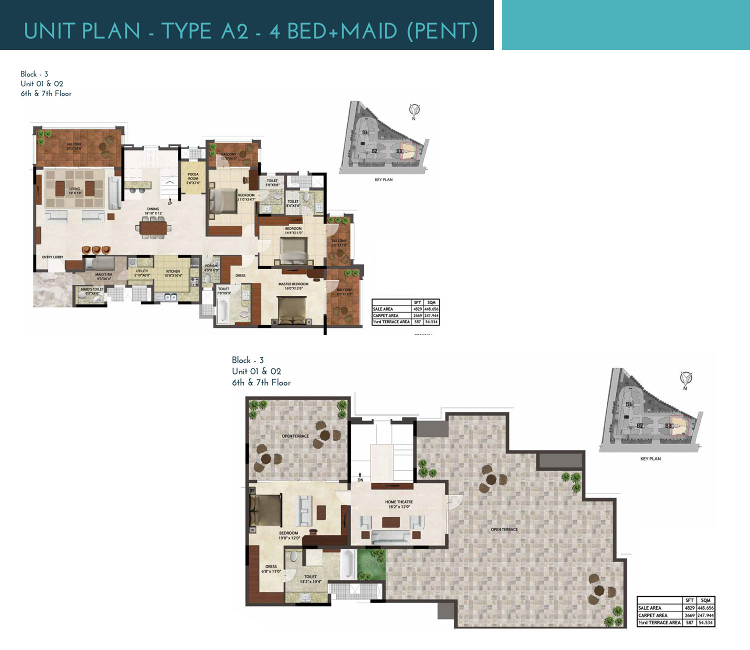 Type A2 - 4829 Sq Ft