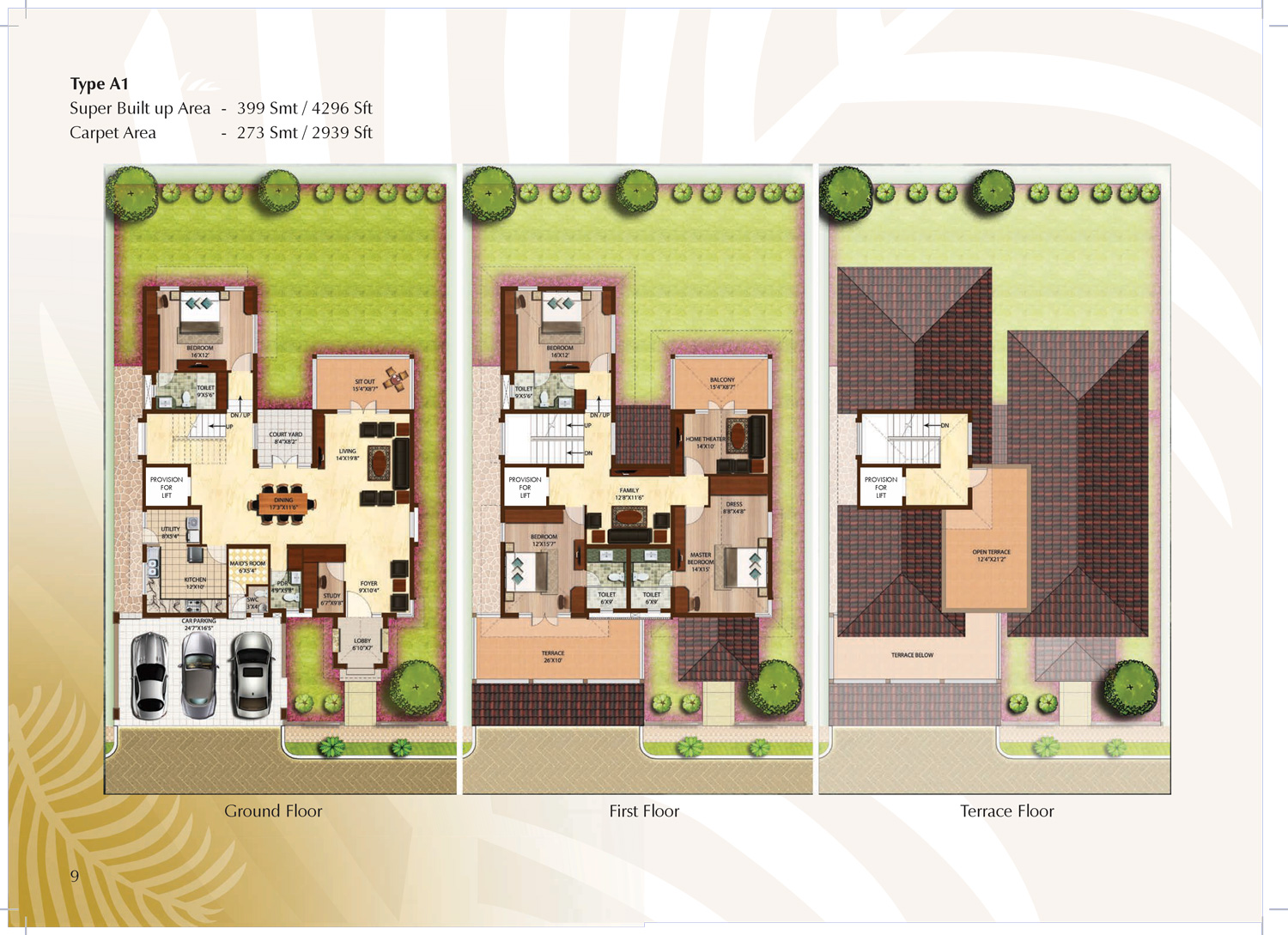 Type A1 - 4296 Sq Ft