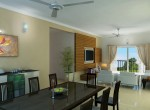 Prestige Ferns Residency - Living cum Dining
