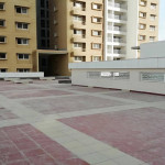 Prestige-Gulmohar-Clubhouse terrace flooring work completed
