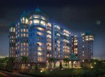 Prestige Leela Residences - Night View