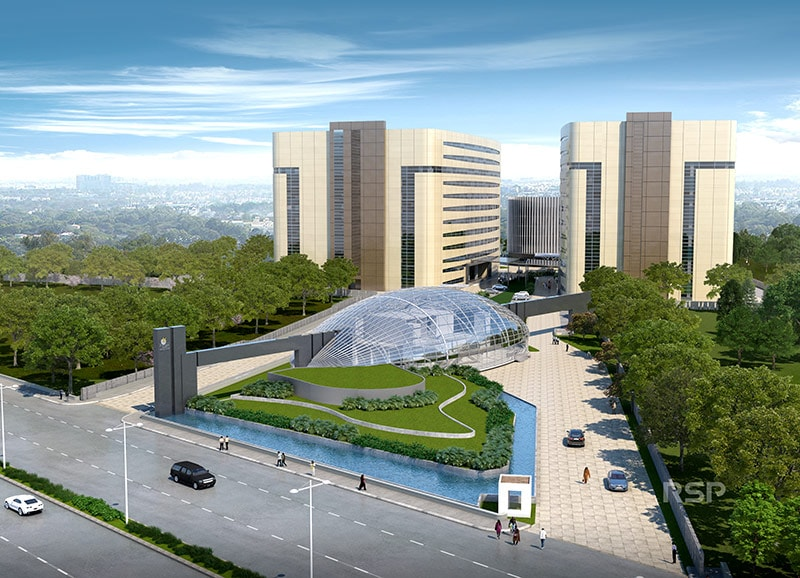 Corporate Office Block for rent at Outer Ring Road, South East