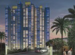 Prestige White Meadows - Tower Perspective Night View