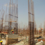 TOWER 1 SEVENTH FLOOR SLAB CASTED (POUR 2)