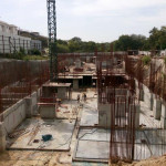 TOWER-2 GRADE SLAB CONCRETING WORKS