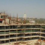 TOWER 24TH FLOOR SLAB BALANCE AREA CASTED