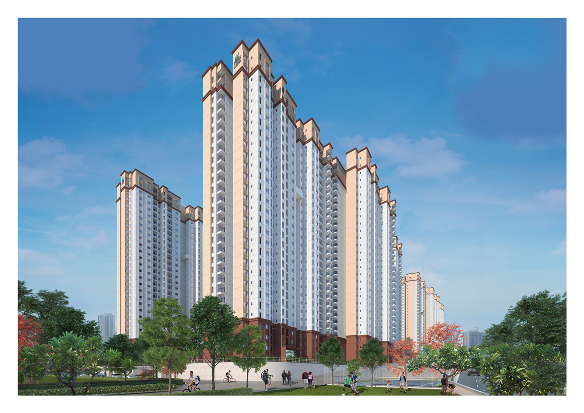 1/2/3/4 BHK Apartments for Sale in Tumkur Road | Prestige Jindal City