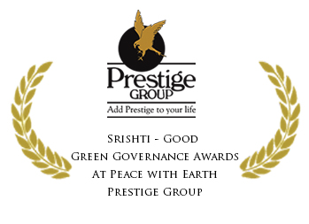 Srishti - Good Green Governance Awards At Peace with Earth Prestige Group